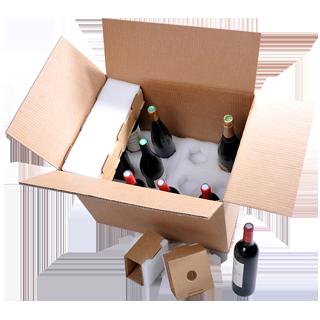 Emballage Bouteille ultimate Modèle 12 bouteilles