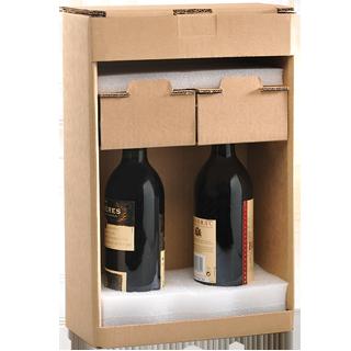 Emballage Bouteille ultimate Modèle 2 bouteilles