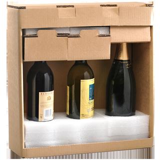Emballage Bouteille ultimate Modèle 3 bouteilles