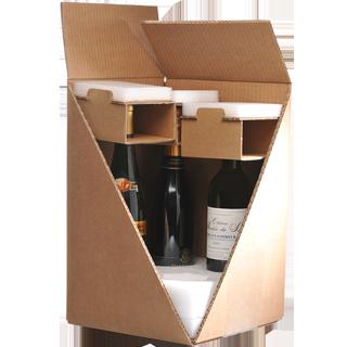 Emballage Bouteille ultimate Modèle 4 bouteilles