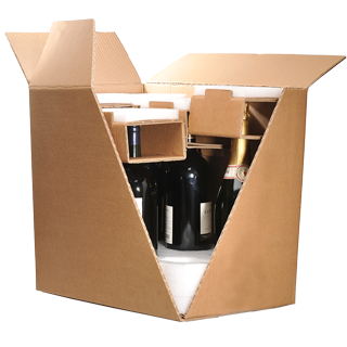 Emballage Bouteille ultimate Modèle 6 bouteilles