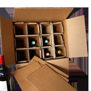 Emballage Bouteille WIP Modèle 12 bouteilles