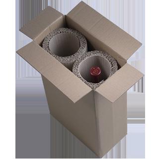 Emballage Bouteille WIP Modèle 2 bouteilles