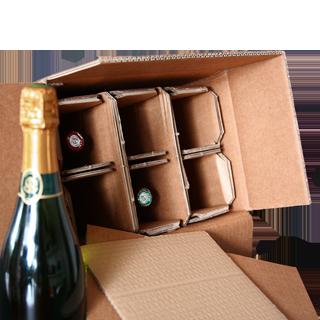 Emballage Bouteille WIP Modèle 6 bouteilles